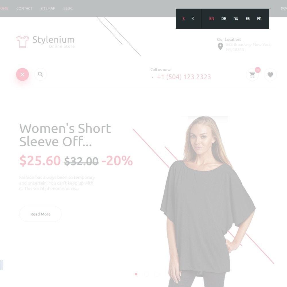 theme - Мода и обувь - Stylenium - Адаптивный PrestaShop шаблон модной одежды - 6