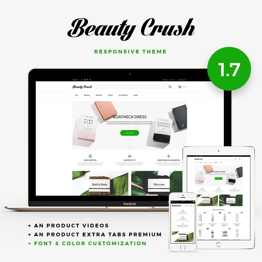 theme - Salute & Bellezza - Beauty Crush Cosmetics - 1