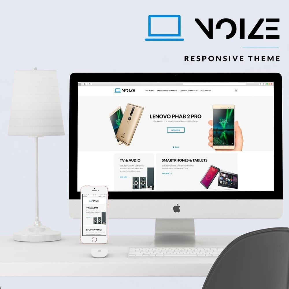 theme - Электроника и компьютеры - Noize - High-tech Shop - 1