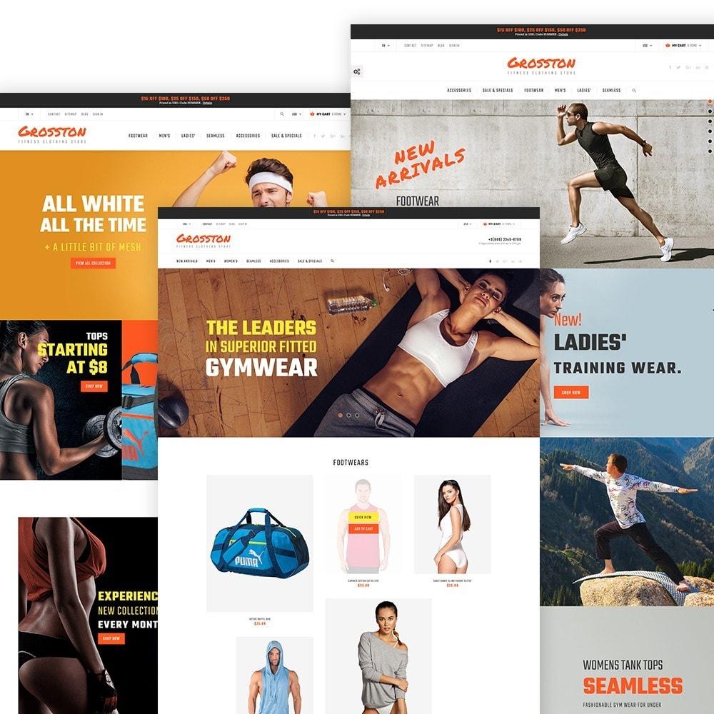 theme - Sport, Loisirs & Voyage - Crosston - Magasin de vêtements de fitness PrestaShop - 2