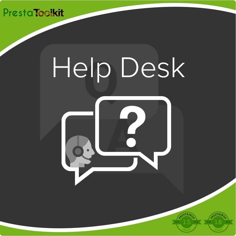 module - Supporto & Chat online - Help desk, Gestione del supporto - 1
