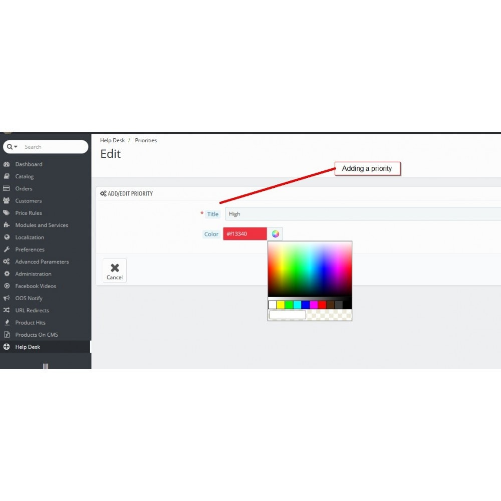 module - Supporto & Chat online - Help desk, Gestione del supporto - 6