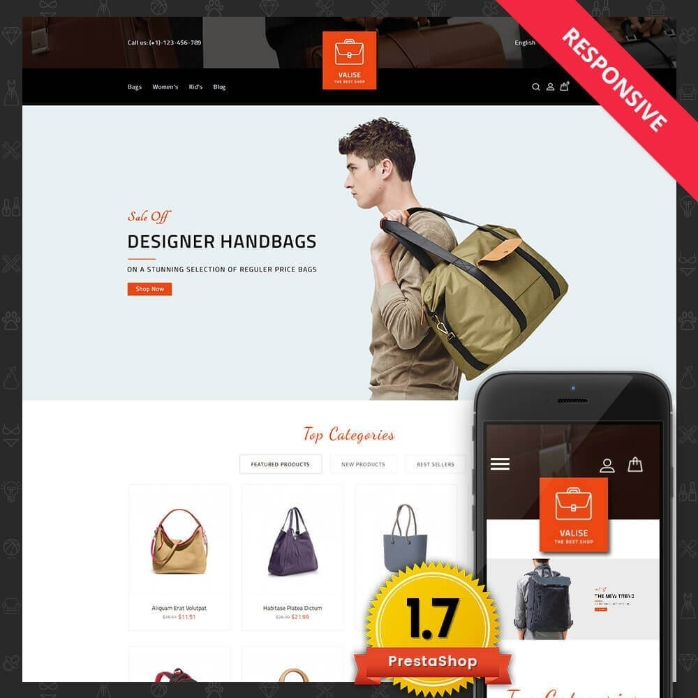 theme - Mode & Chaussures - Valise Store - 1