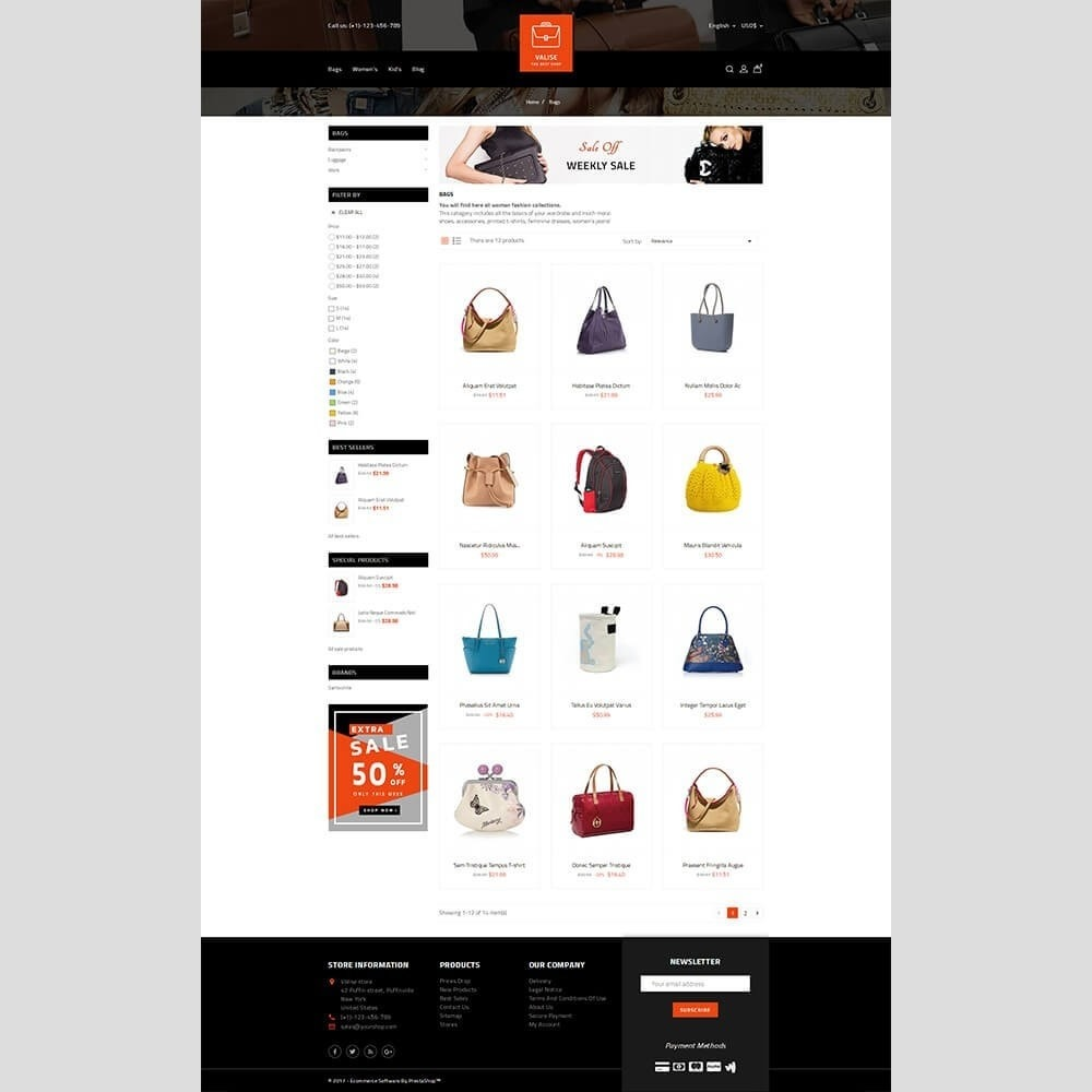 theme - Mode & Chaussures - Valise Store - 3