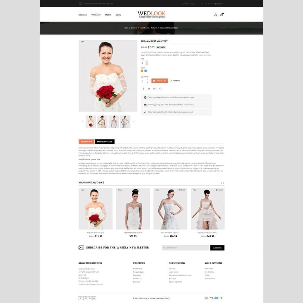 theme - Mode & Schoenen - Wedlook Wedding Store - 5