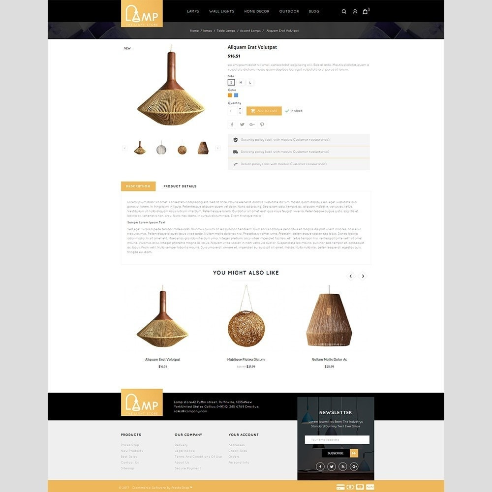 theme - Home & Garden - Lamp Store - 5