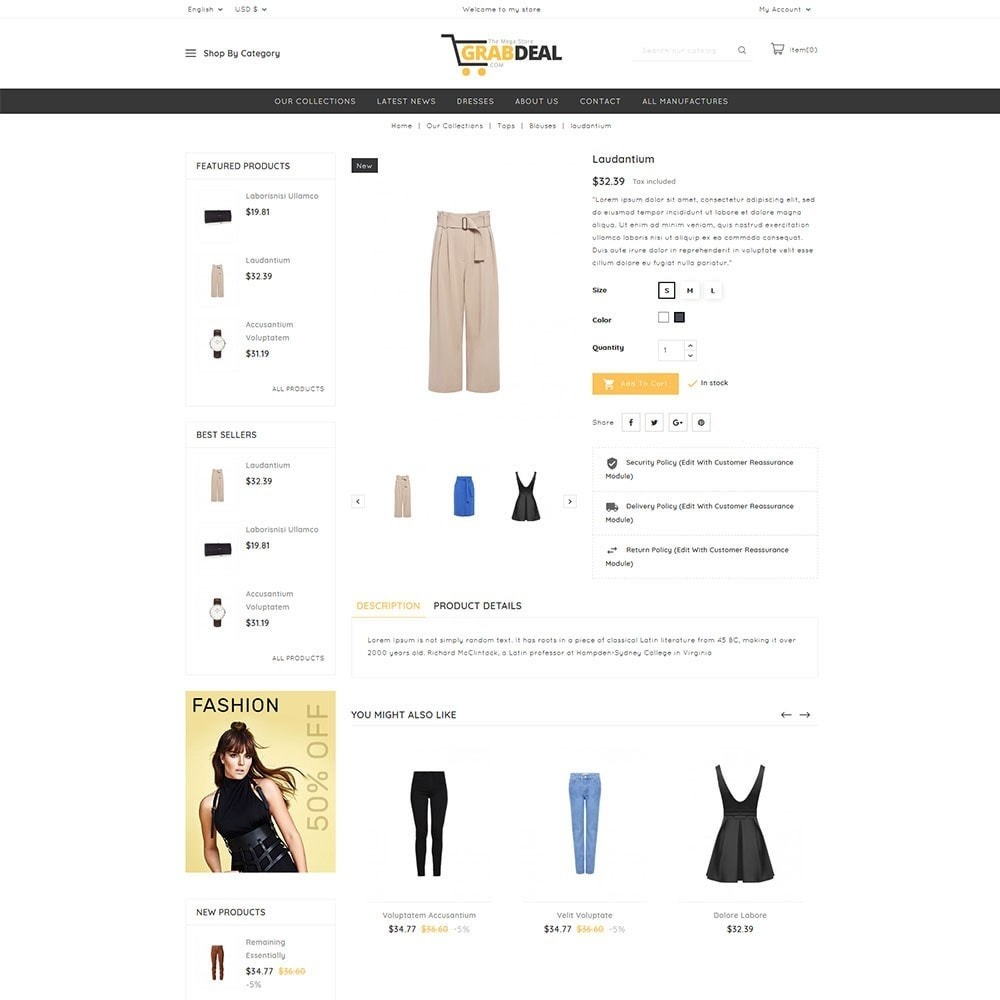 theme - Мода и обувь - Grabdeal - The Fashion Store - 5