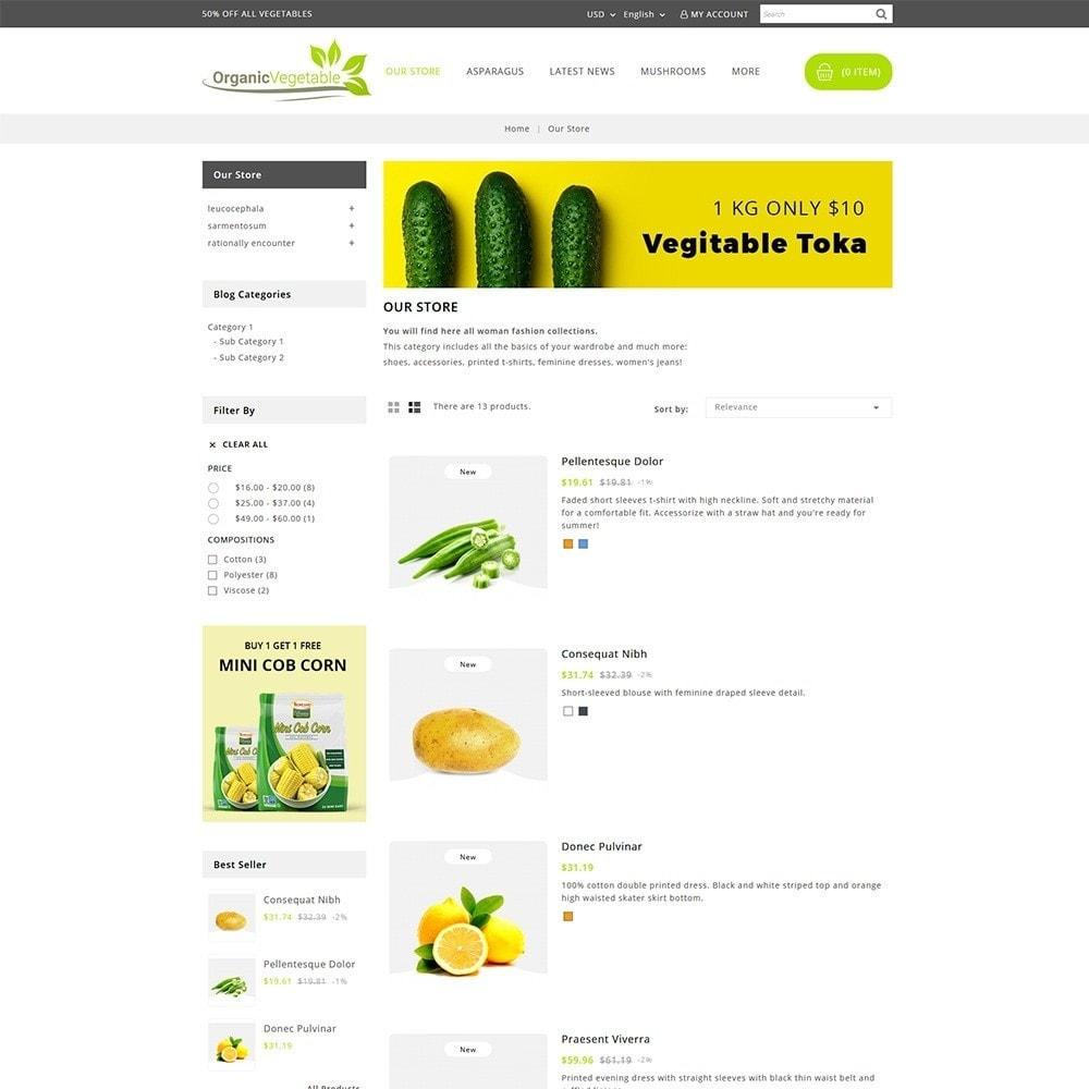 theme - Food & Restaurant - Organic Vegetable Store - 4