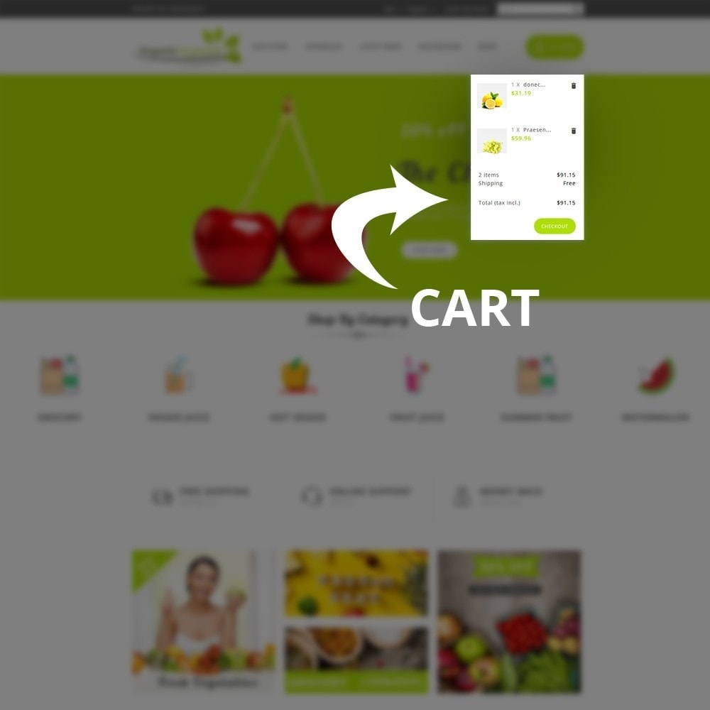 theme - Food & Restaurant - Organic Vegetable Store - 7