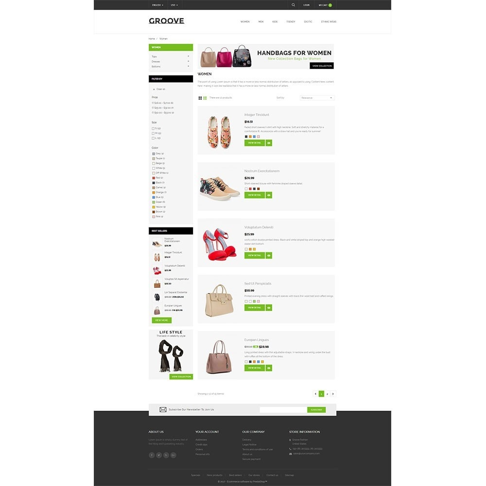 theme - Mode & Chaussures - GrooveFashion Store - 4