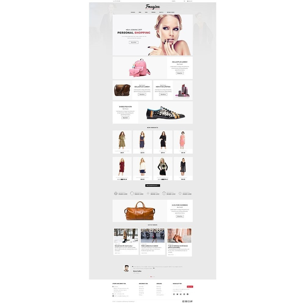 theme - Fashion & Shoes - Fmagine Store - 2