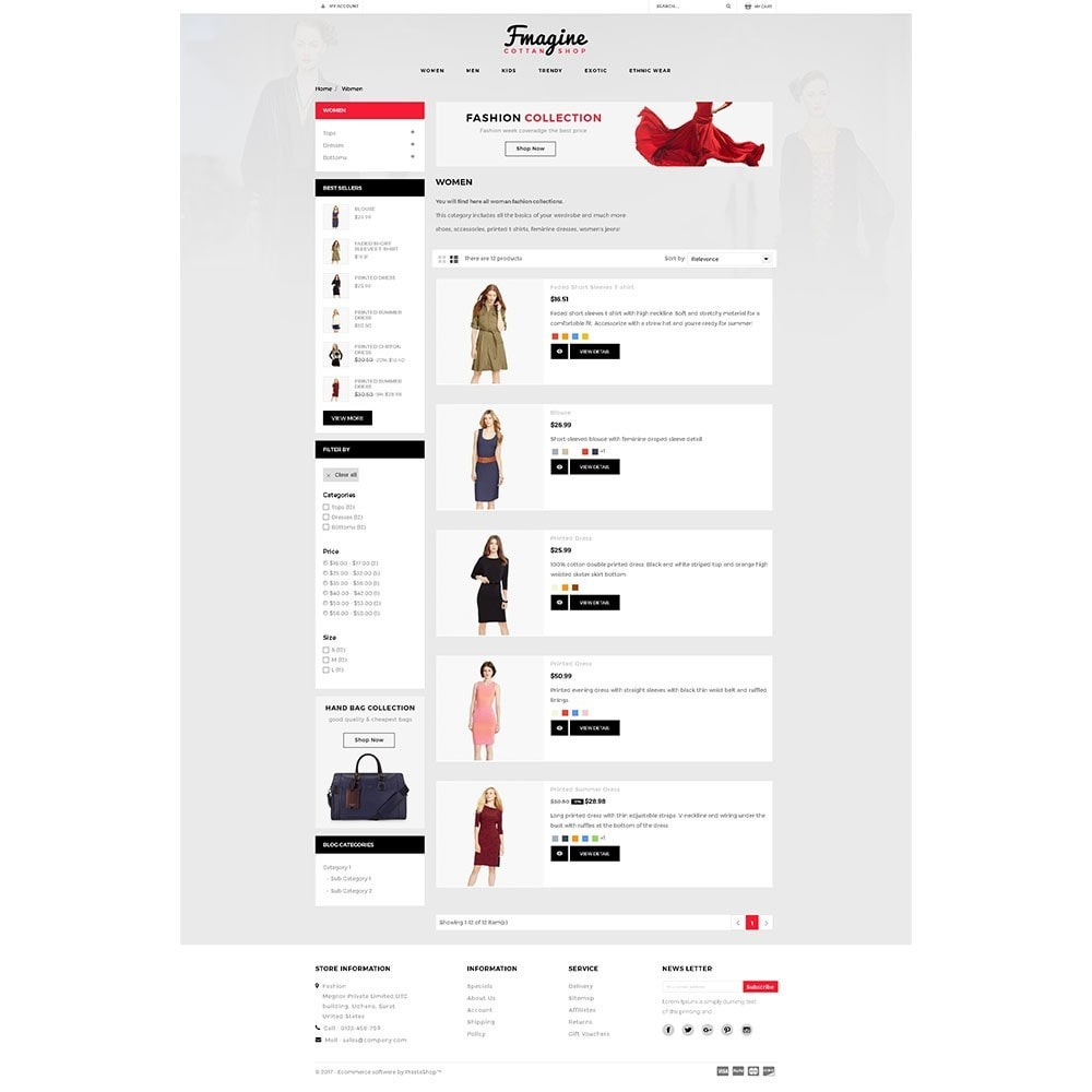 theme - Fashion & Shoes - Fmagine Store - 4