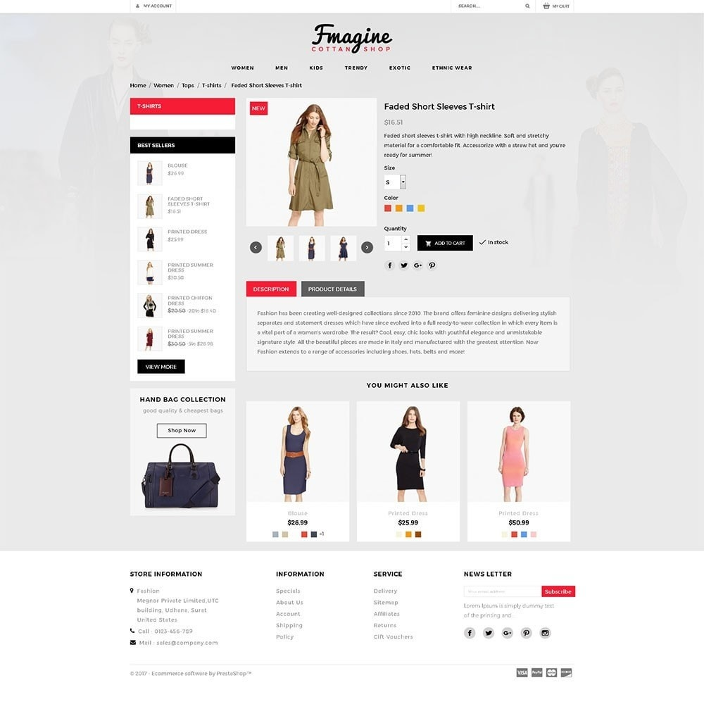 theme - Fashion & Shoes - Fmagine Store - 5
