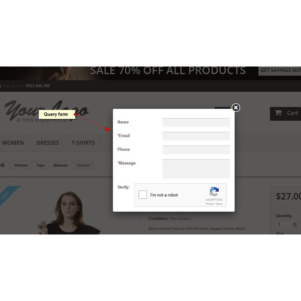 module - Kontaktformular & Umfragen - Produktanfrage - 4