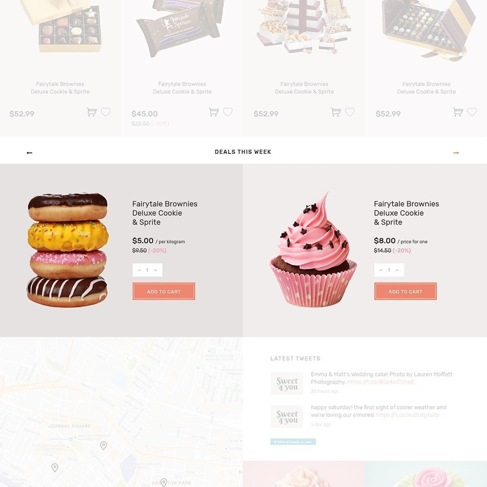theme - Eten & Restaurant - Sweet4you - Sweet Shop - 7