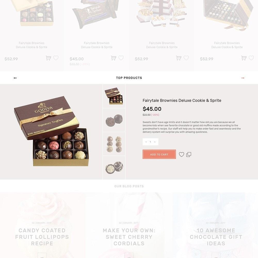 theme - Продовольствие и рестораны - Sweet4you - шаблон по продаже сладостей - 7