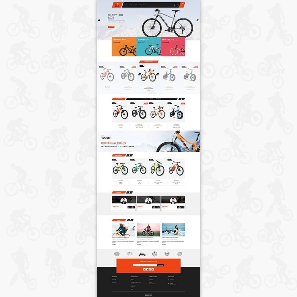 theme - Sport, Loisirs & Voyage - Bicycle Sports Store - 2
