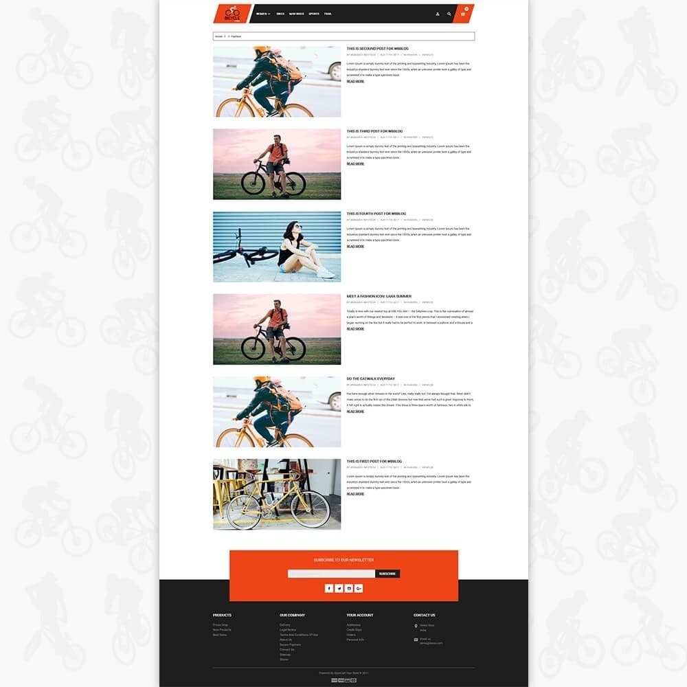 theme - Sport, Loisirs & Voyage - Bicycle Sports Store - 4