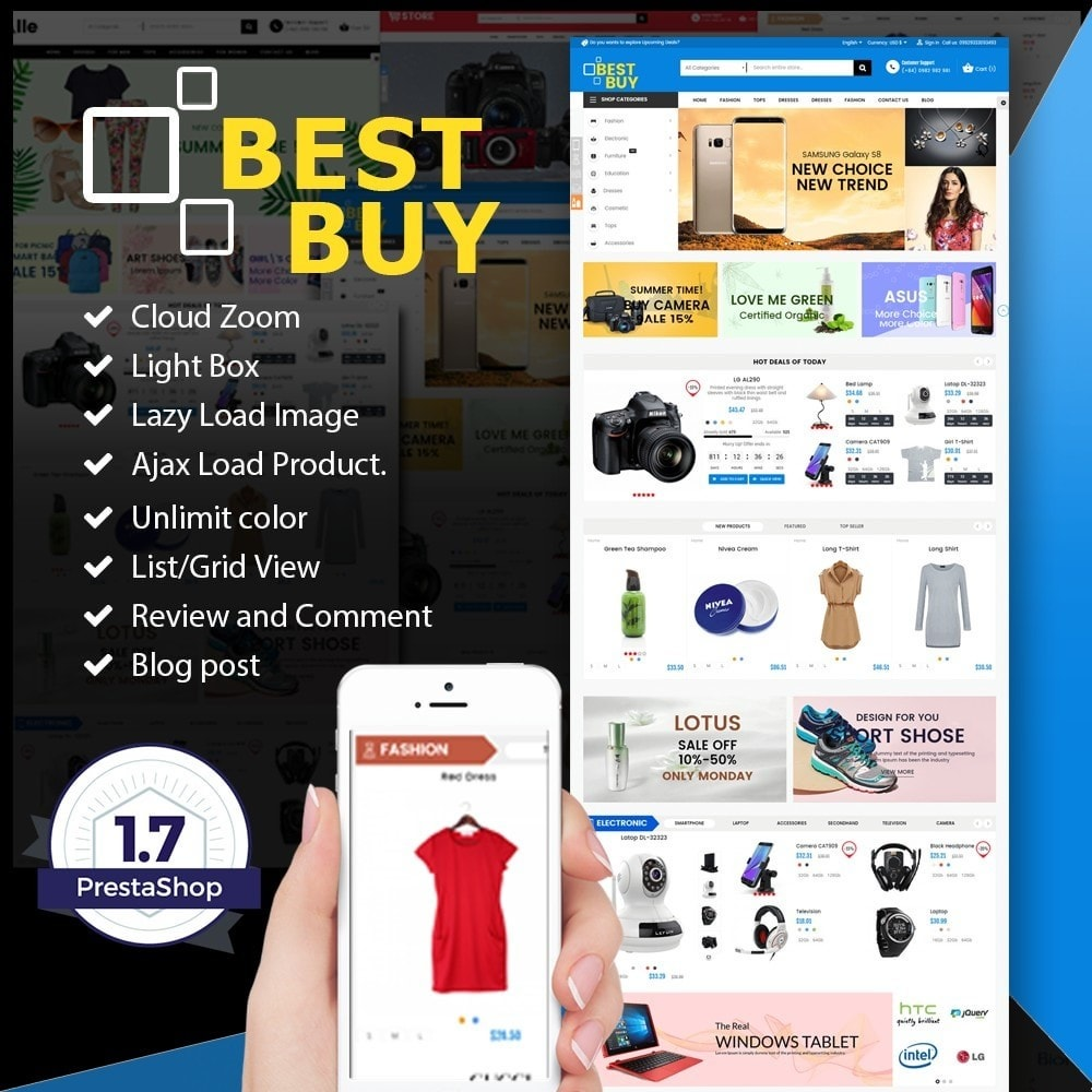 theme - Elettronica & High Tech - Best Buy SuperMarket - 1