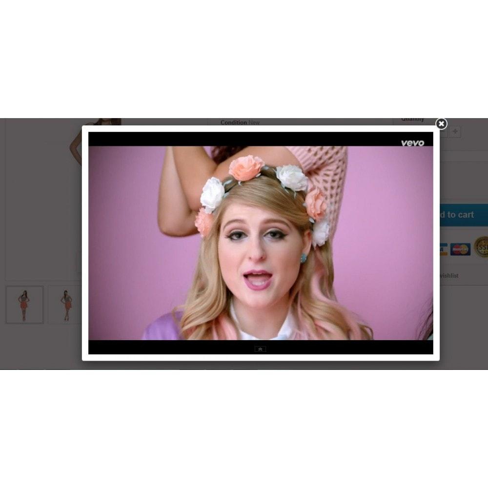module - Video & Musica - Video dei prodotti Youtube - 4