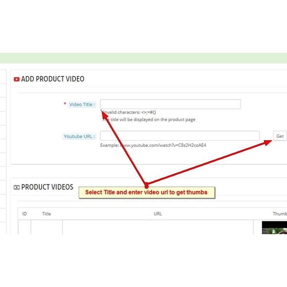 module - Video & Musica - Video dei prodotti Youtube - 6