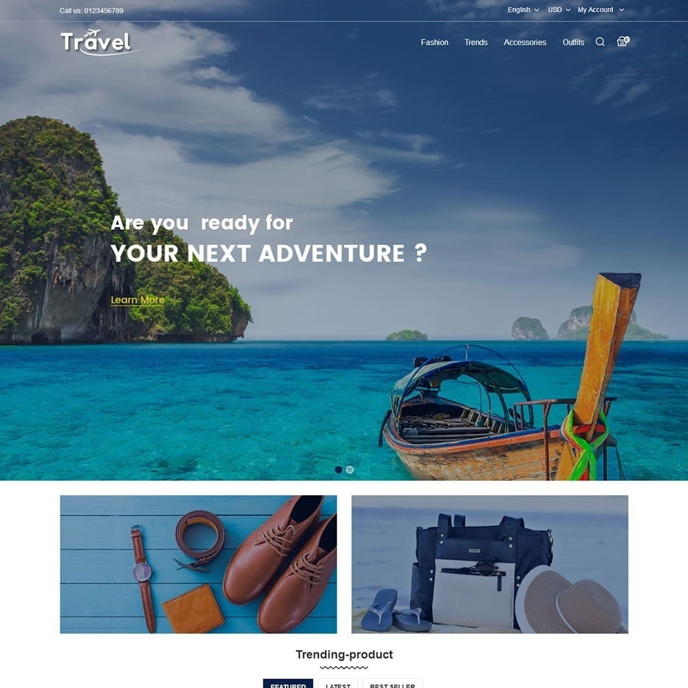 theme - Sports, Activities & Travel - Travel Store - 2