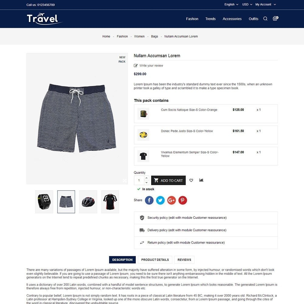 theme - Sports, Activities & Travel - Travel Store - 5