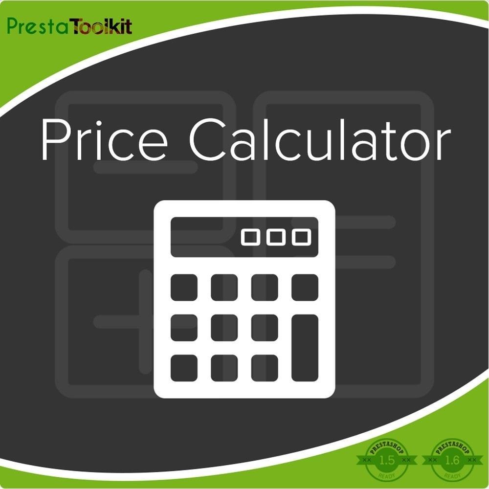 module - Zusatzinformationen & Produkt-Tabs - Preisrechner, Preisaktualisierung - 1