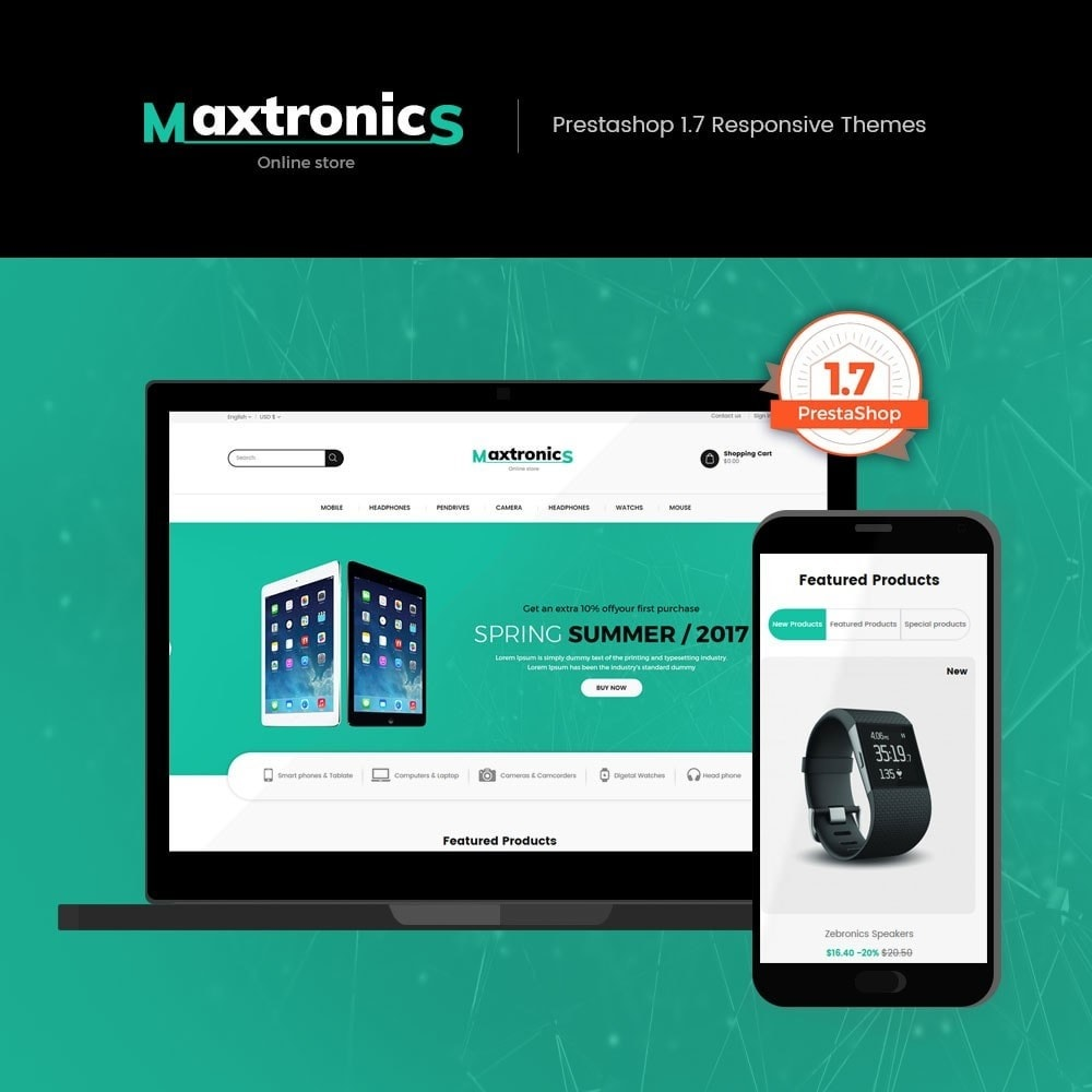 theme - Electronique & High Tech - Maxtronics - Electronics Store - 1
