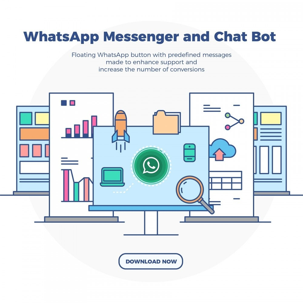 module - Ondersteuning & Online chat - WhatsApp Messenger and Chat Bot - 2