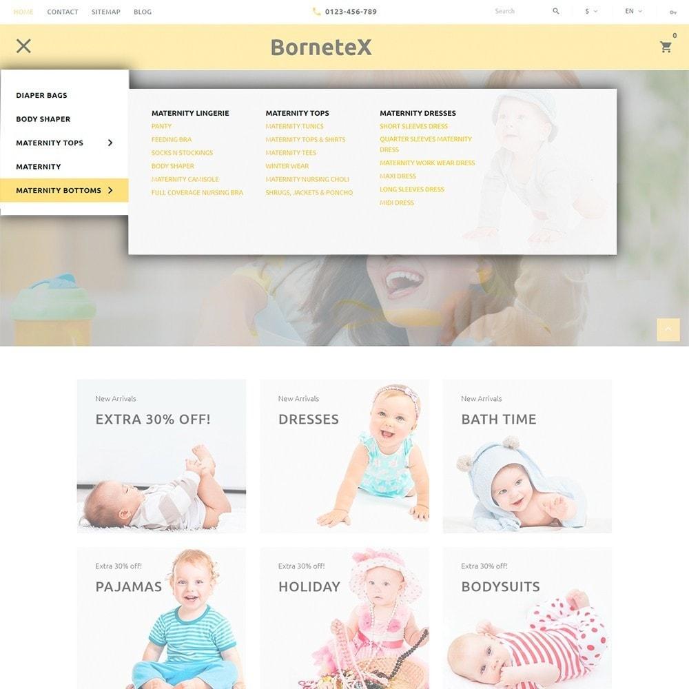 theme - Kids & Toys - BorneteX - Maternity Store - 3
