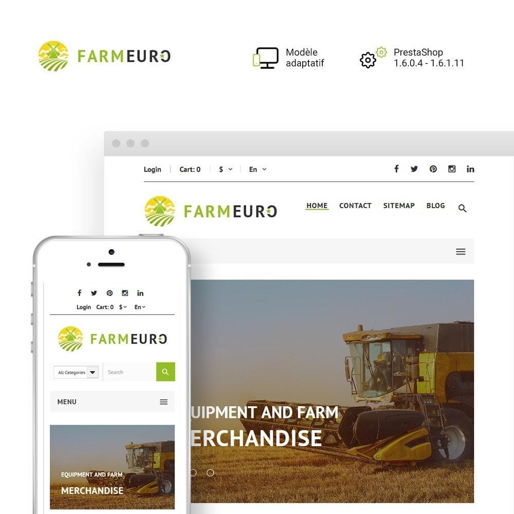 theme - Auto & Moto - FarmEuro - Agriculture thème PrestaShop adaptatif - 1