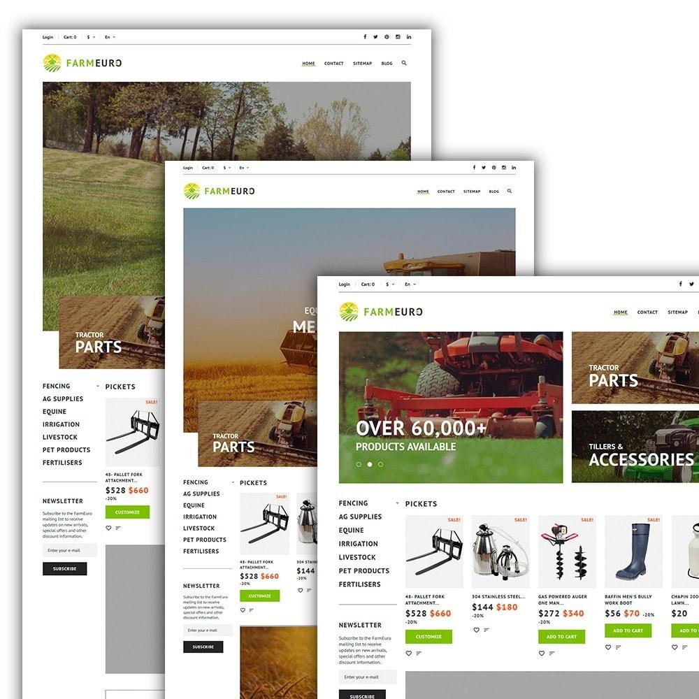 theme - Coches y Motos - Tema de PrestaShop para Sitio de Granjas - 2