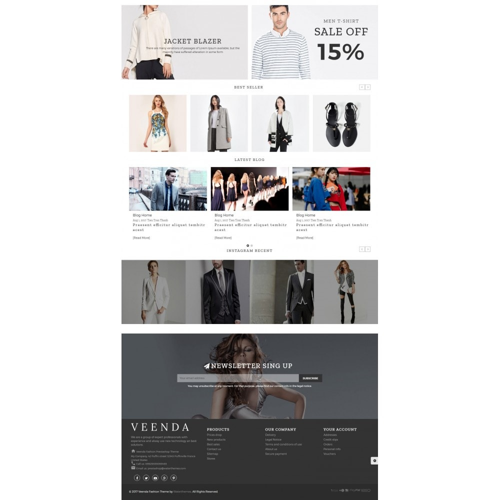 theme - Moda & Obuwie - Veenda Fashion Shop - 3