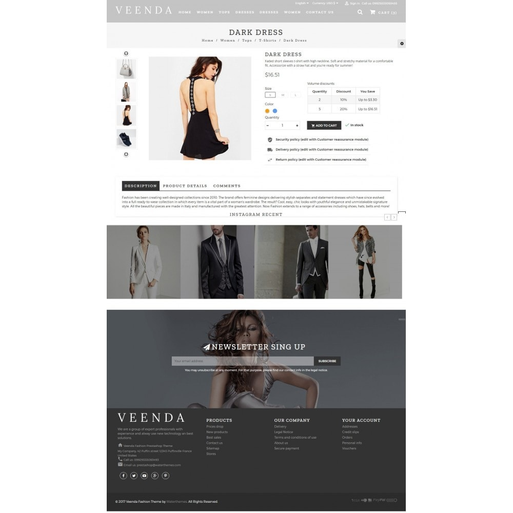 theme - Мода и обувь - Veenda Fashion Shop - 5