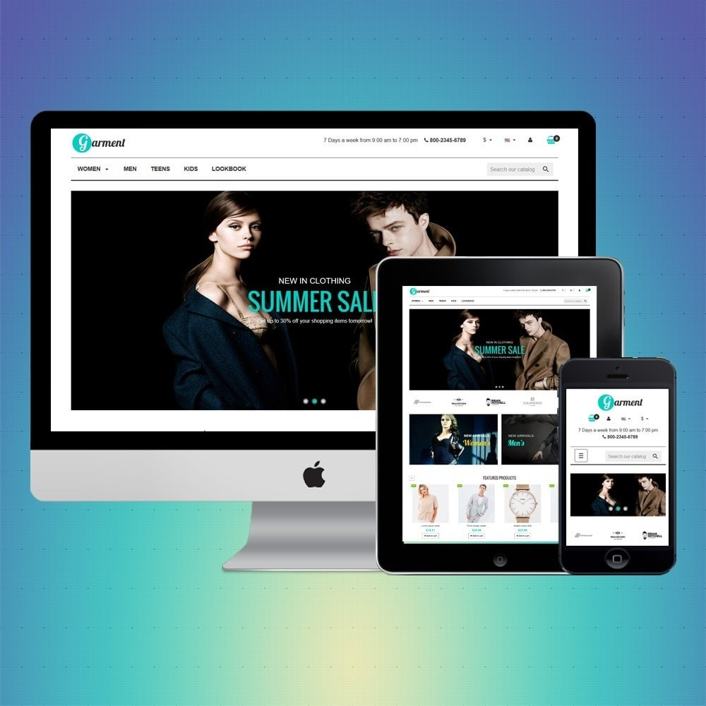 theme - Moda & Calzature - VP_Garment Store - 1