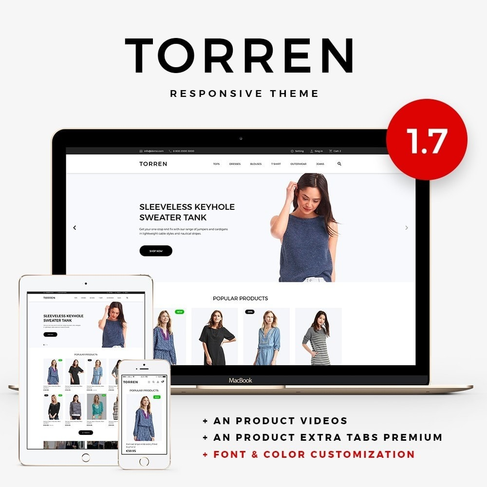 theme - Mode & Chaussures - Torren Fashion Store - 1