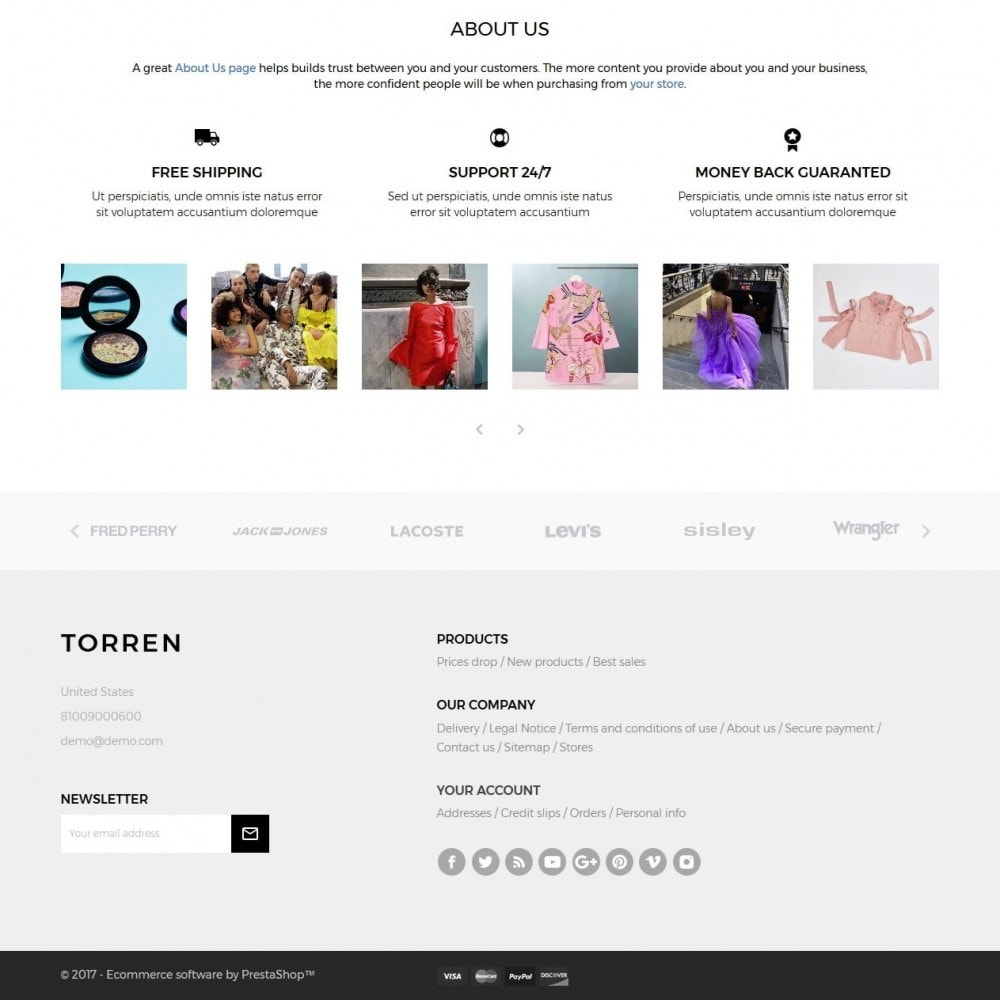 theme - Mode & Chaussures - Torren Fashion Store - 4