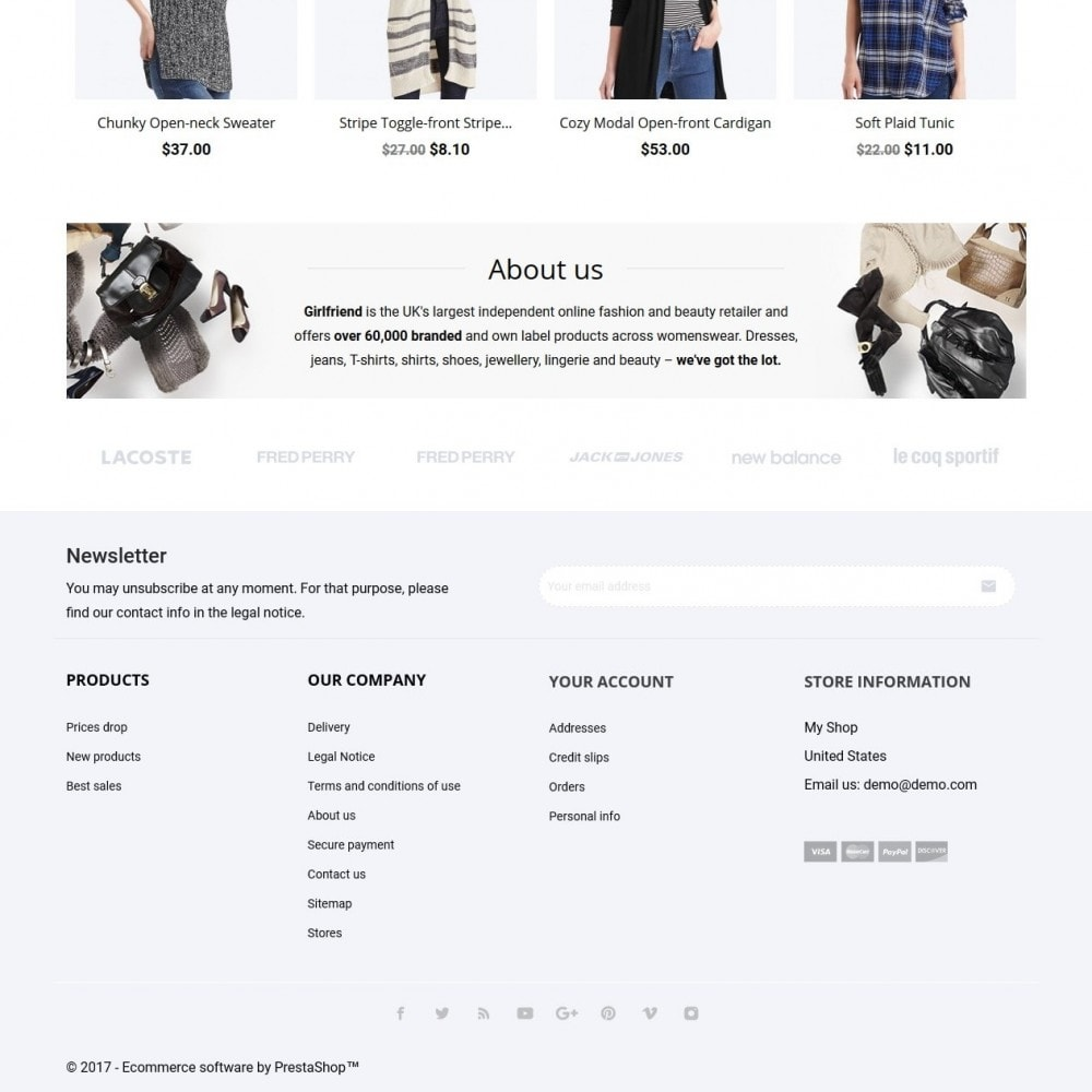 theme - Moda y Calzado - Girlfriend Fashion Store - 4