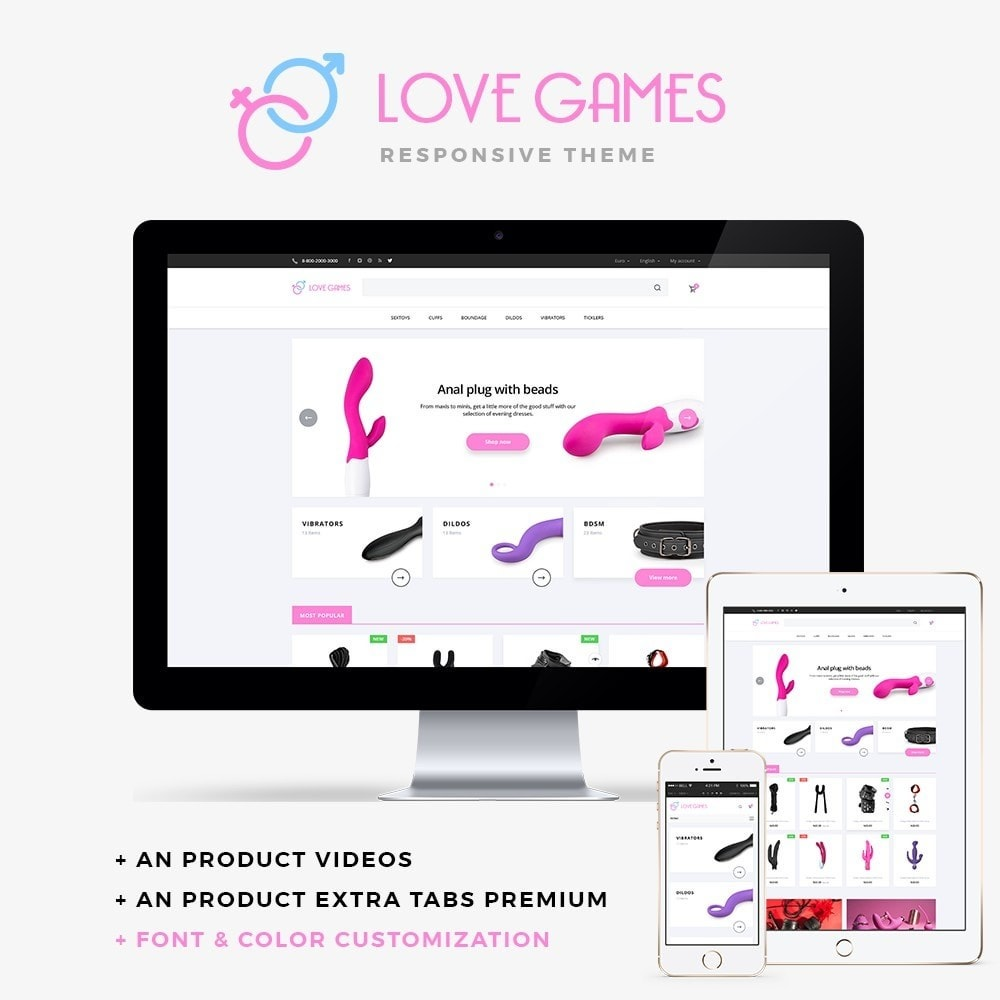 theme - Lingerie & Volwassenen - Love games - 1