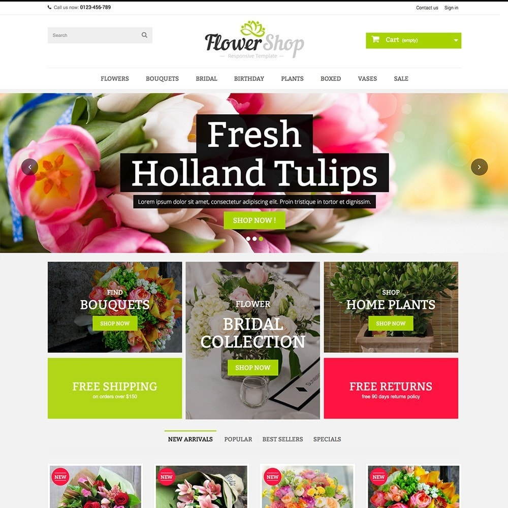 theme - Cadeaus, Bloemen & Gelegenheden - FLOWER SHOP - 3