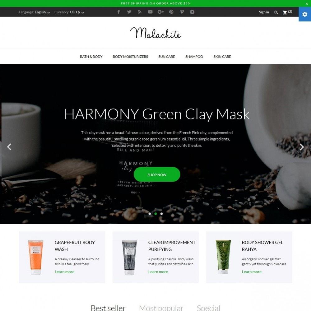 theme - Здоровье и красота - Malachite Cosmetics - 2