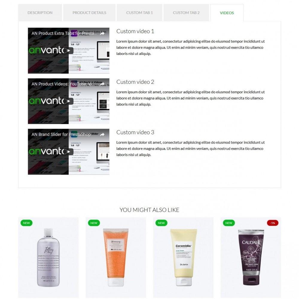 theme - Santé & Beauté - Malachite Cosmetics - 9