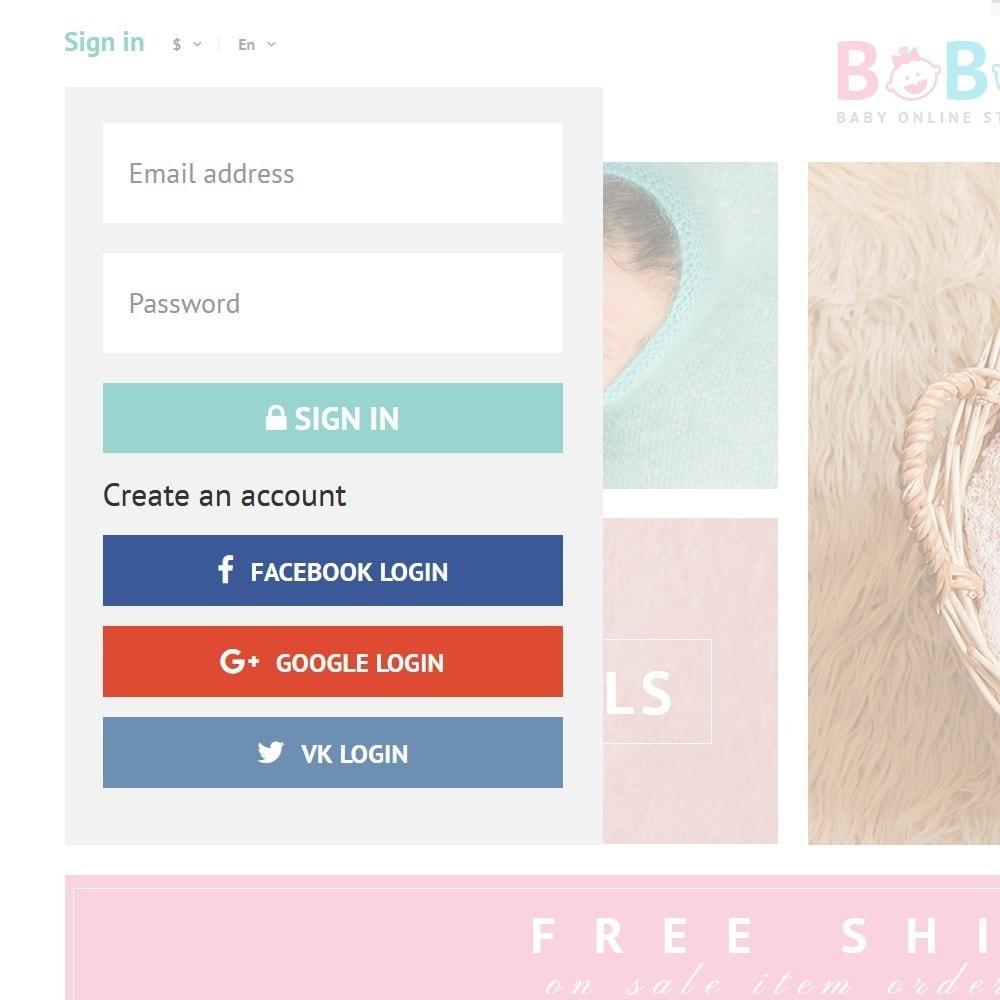 theme - Kids & Toys - BoBo - Baby Online Store - 3