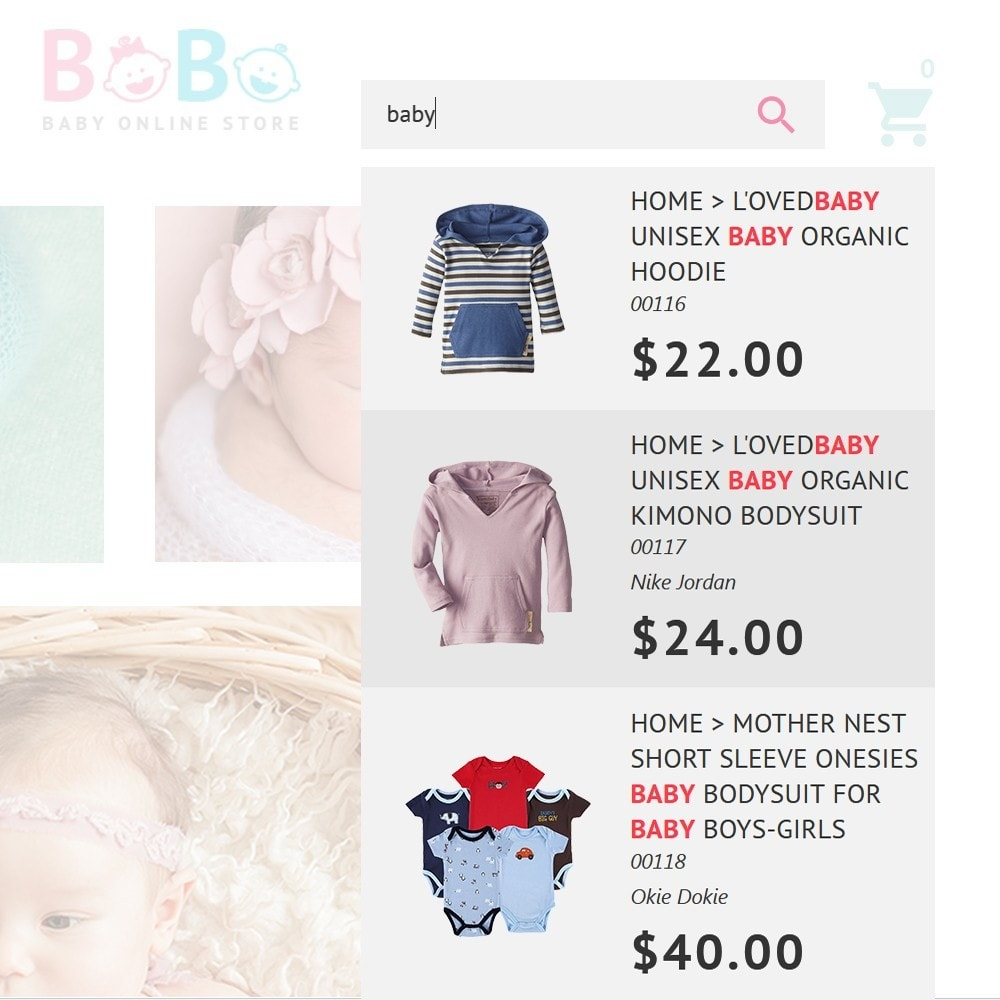 theme - Kids & Toys - BoBo - Baby Online Store - 4