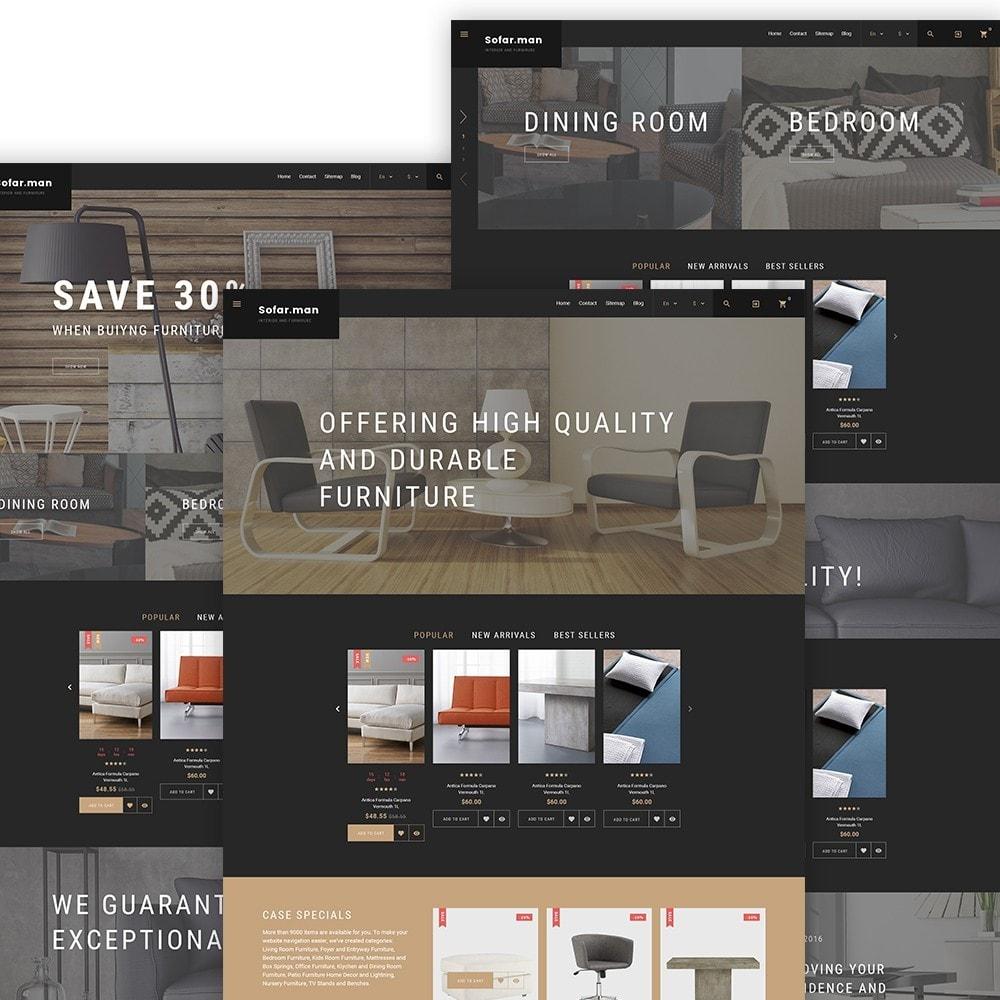 theme - Hogar y Jardín - Sofarman - Tema de PrestaShop para Sitio de Muebles - 2
