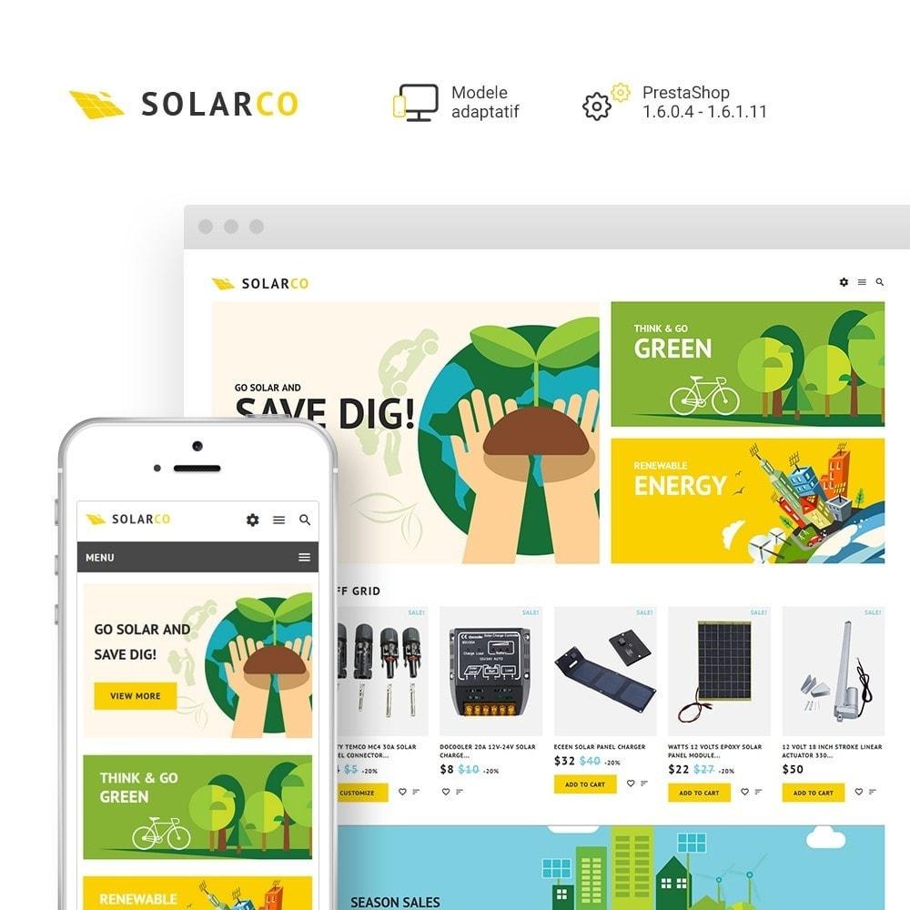 theme - Maison & Jardin - SolarCo - Batteries Solaires et Accessoires - 2