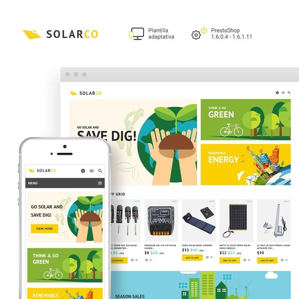 theme - Hogar y Jardín - SolarCo -  Sitio de Energía solar - 2