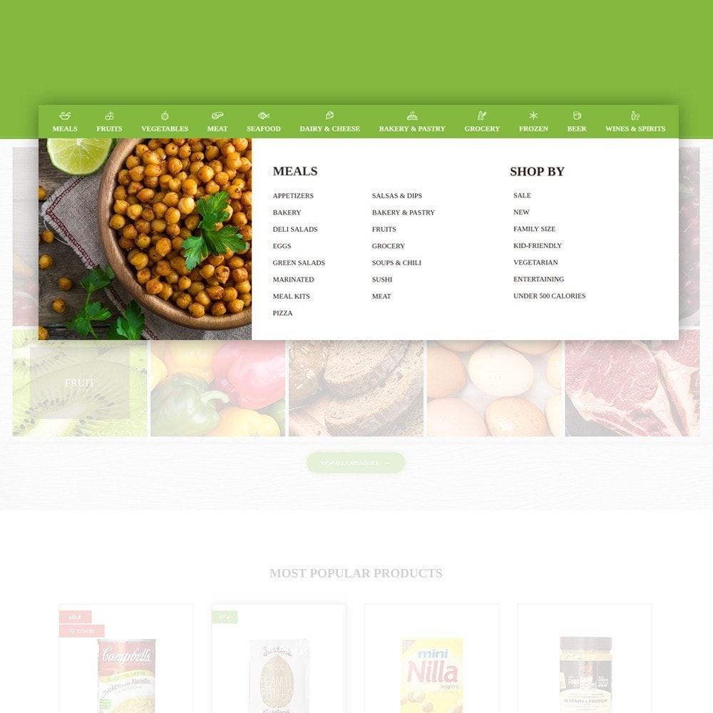 theme - Alimentation & Restauration - FoodFate - Magasin d'alimentation - 5