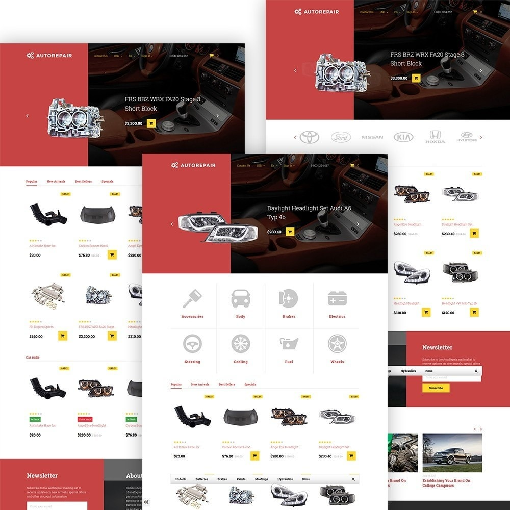theme - Carros & Motos - Autorepair - Car Parts - 2